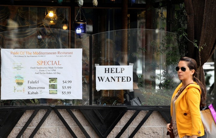 Help wanted; Photo by Justin Sullivan/Getty Images