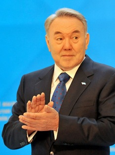 Kazakh President Nursultan Nazarbayev. Photo by Viktor Drachev/AFP/Getty Images