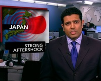 News Wrap: Major Aftershock Rattles Northeast Japan