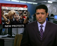 News Wrap: Massive Anti-Government Demonstrations Arise Across Yemen