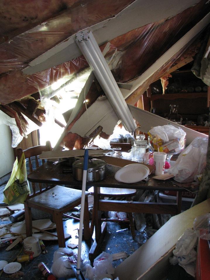 Kitchen Damage