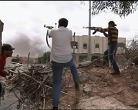 Gadhafi's Forces, Rebels Battle for Control of Misrata
