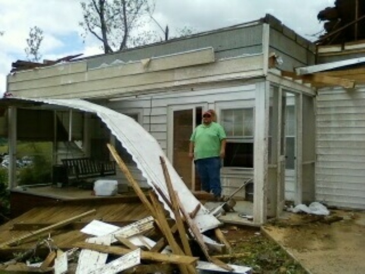 Georgia Homes Destoryed