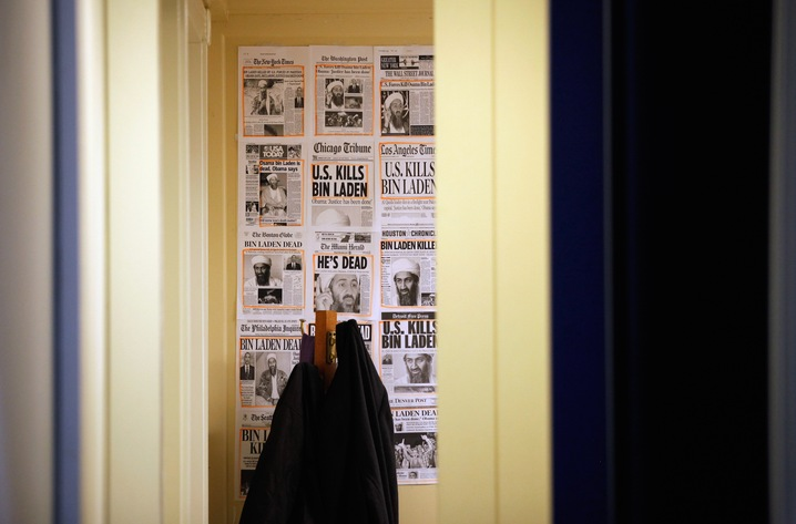 Front Pages in the West Wing