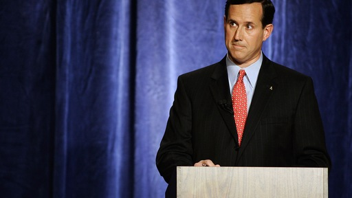 Former Pennsylvania Sen. Rick Santorum. File photo.