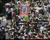 Protesters in Mexico Take to the Streets Over Drug Cartel Violence