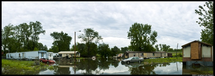 Flooded Trailer Park