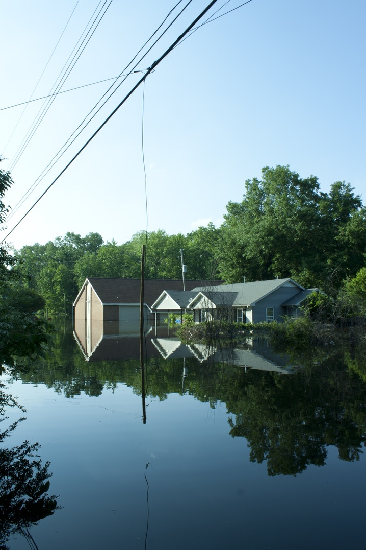 Submerged Home
