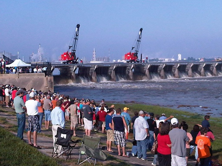 Opening the Spillway