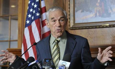 Rep. Ron Paul; photo by Steve Pope/Getty Images