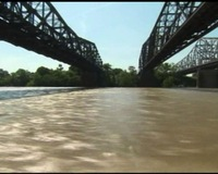 Army Corps of Engineers Navigates Miss. River Spillways
