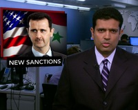 News Wrap: U.S. Imposes Sanctions on Syrian Leaders Over Humans Rights Abuses
