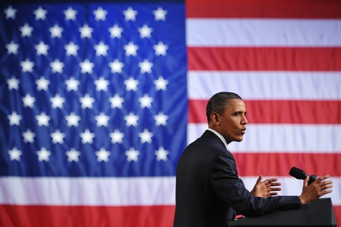 President Obama; photo by Mandel Ngan/AFP/Getty Images