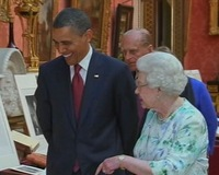 News Wrap: Obamas Begin Rare U.K. State Visit; Mubarak Faces Trial