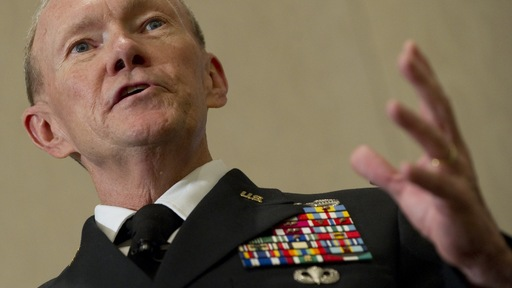 Army Gen. Martin Dempsey. Photo by Saul Loeb/AFP/Getty Images