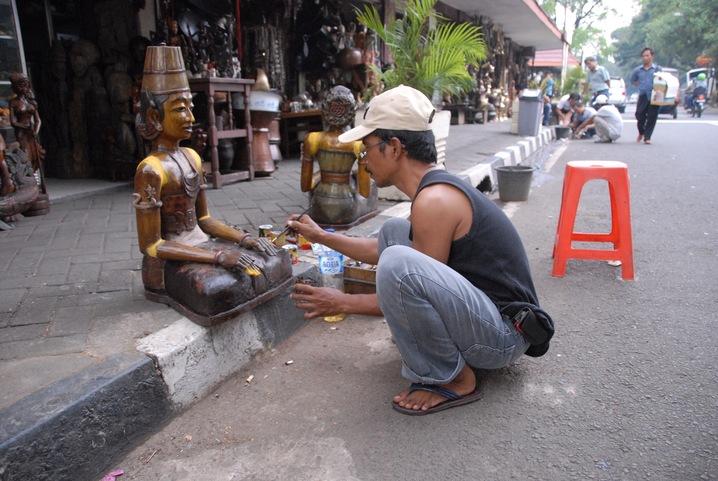Painting a Buddha