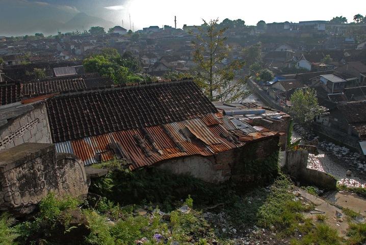 Mt. Merapi and River