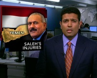 News Wrap: Yemen's Saleh Burned Badly, Bleeding Inside Skull, U.S. Says