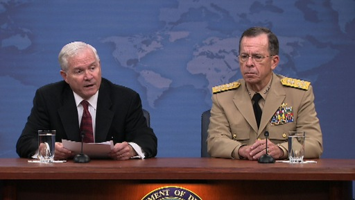 Defense Secretary Robert Gates and Chairman of the Joint Chiefs of Staff Adm. Mike Mullen