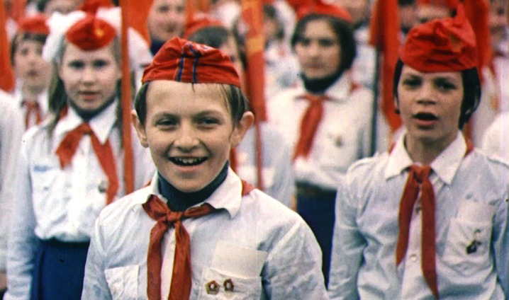 Young Soviet Pioneers Moscow