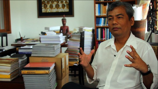 Youk Chhang, director of the Documentation Center of Cambodia
