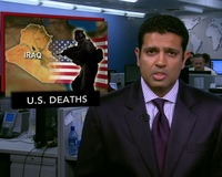 News Wrap: June Deadliest Month for U.S. Troops in Iraq in 2 Years