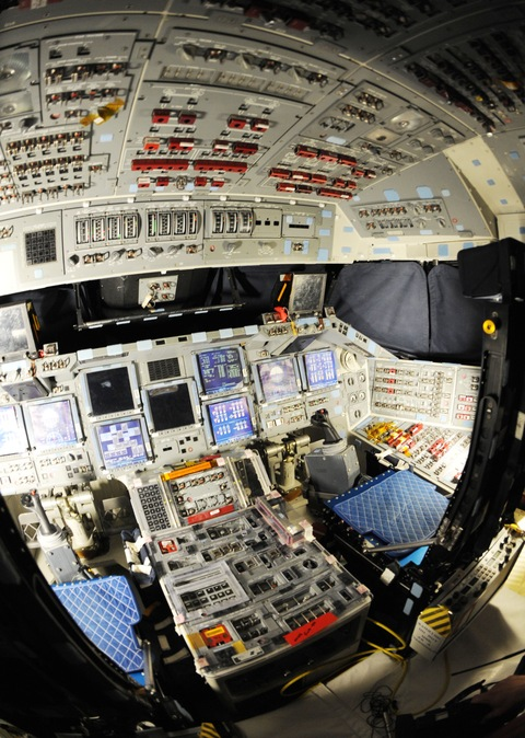 Discovery flight deck