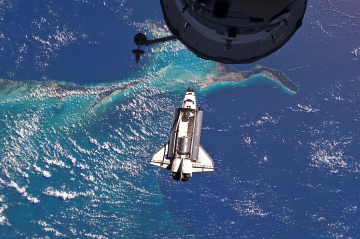 Atlantis Over Earth