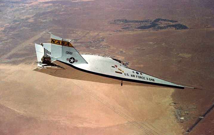 x-24B test vehicle