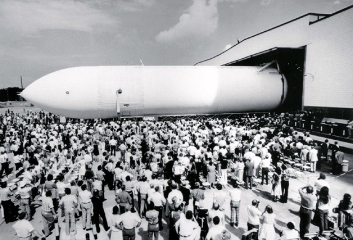 The First External Tank