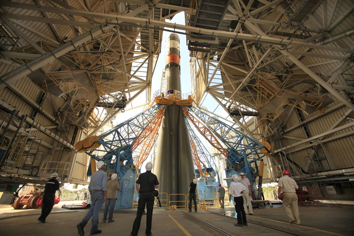 Inside the Launch Building