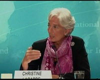 Lagarde Takes Helm of IMF in Time of Global Economic Uncertainty