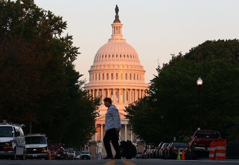 The U.S. Capitol; photo by Mark Wilson/Getty Images