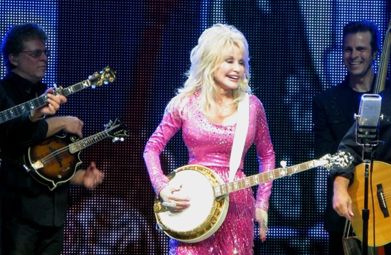 Dolly Parton; photo by Mike Melia/PBS NewsHour