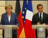 Merkel, Sarkozy Call for Single Eurozone Governance