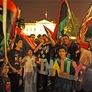 GOP Presidential Hopefuls Cautiously Cheer Gadhafi's Fall