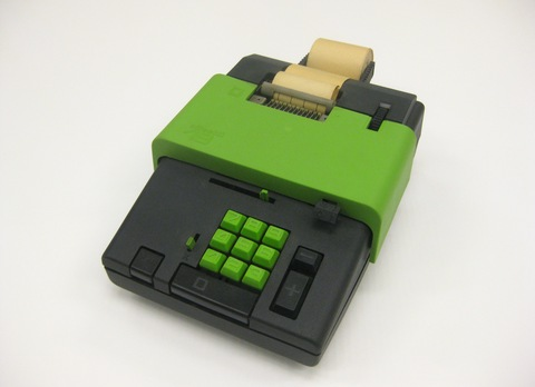 Ettore Sottsass, Summa 19 Electronic Printing Calculator, 1970. Courtesy Denver Art Museum.