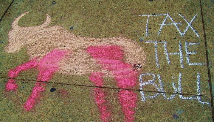 'Tax the Bull'