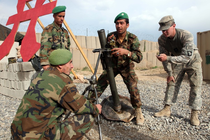 Training Afghans