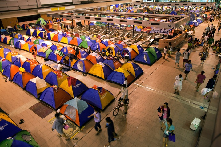 Airport Tent Camp