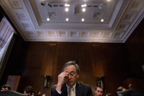 Energy Secretary Steven Chu; photo by Chip Somodevilla/Getty Images
