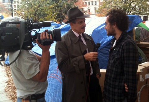Paul Solman at OccupyDC