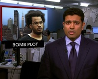 News Wrap: Alleged NYC Bomb Plotter Arrested, Arraigned