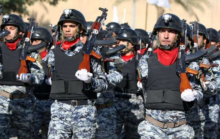 Iraqi Forces Take Over