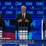 GOP Hopefuls Draw Sharp Divisions on Foreign Policy at Debate