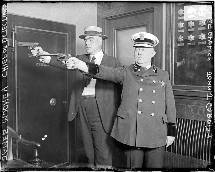 Police Captains Firing Guns