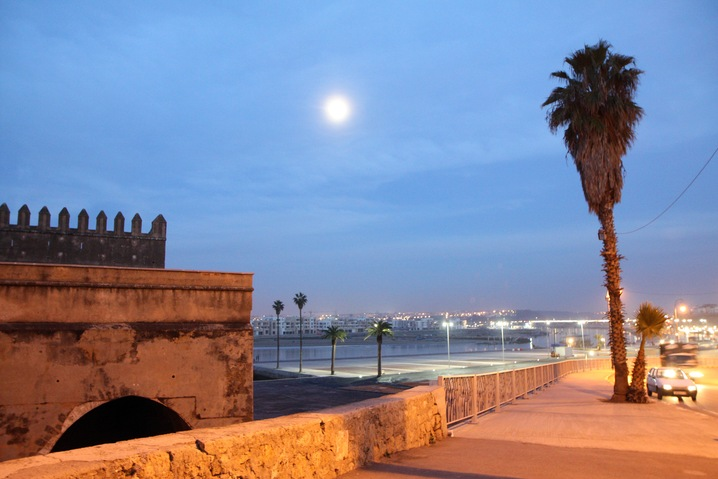 Rabat at Night