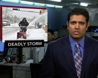 News Wrap: Great Plains Snowstorm Kills at Least 6, Closes Major Highways