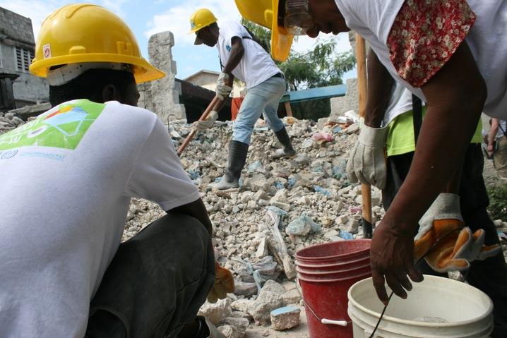 Removing Debris