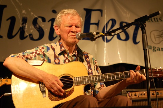 Doc Watson; photo by Appalachian Encounters via Flickr